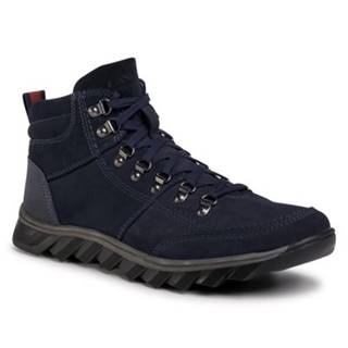 Šnurovacia obuv  MBS-RJUKA-02 koža ekologická