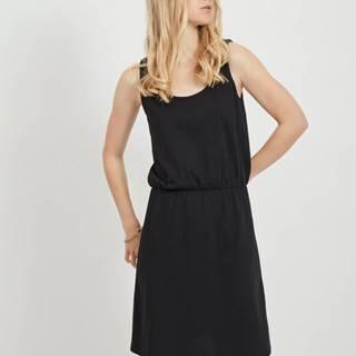 Čierne basic šaty VILA Calina