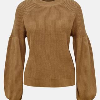 Hnedý sveter ONLY Laysla