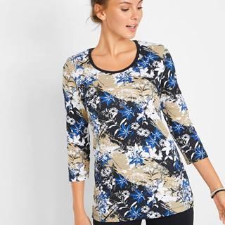 Bavlnené tričko s dlhým rukávom