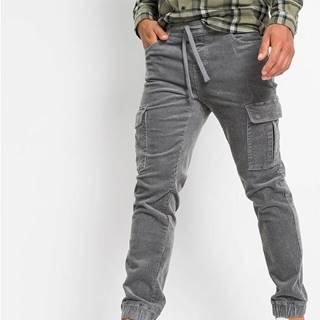 Kordové nohavice Regular Fit Straight