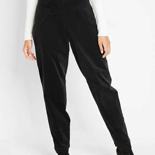 Kordové nohavice s pohodlným lemom
