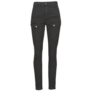 Nohavice Cargo  BLOSSITE ARMY ULTRA HIGH SKINNY WMN