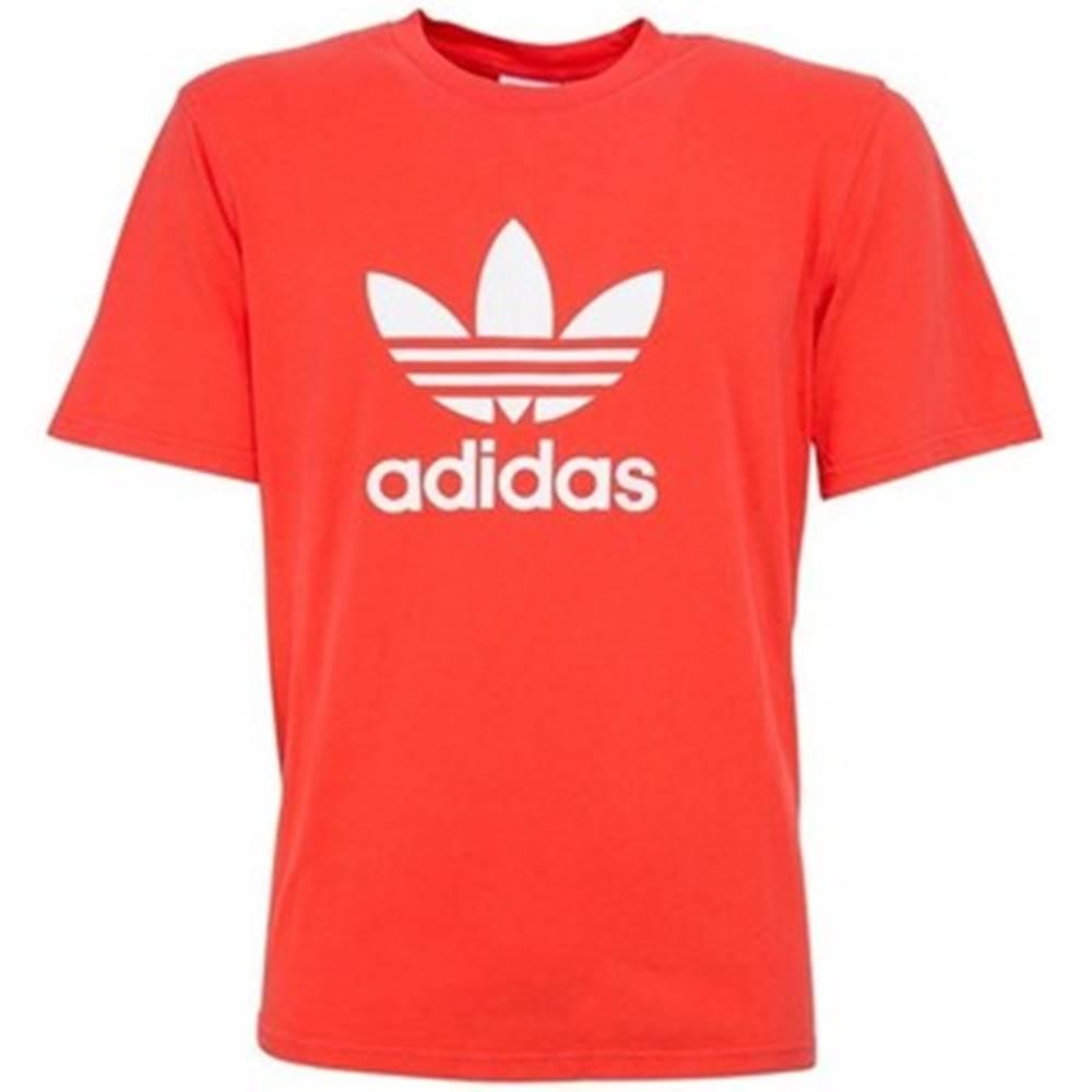 Tričká s krátkym rukávom adidas  Trefoi