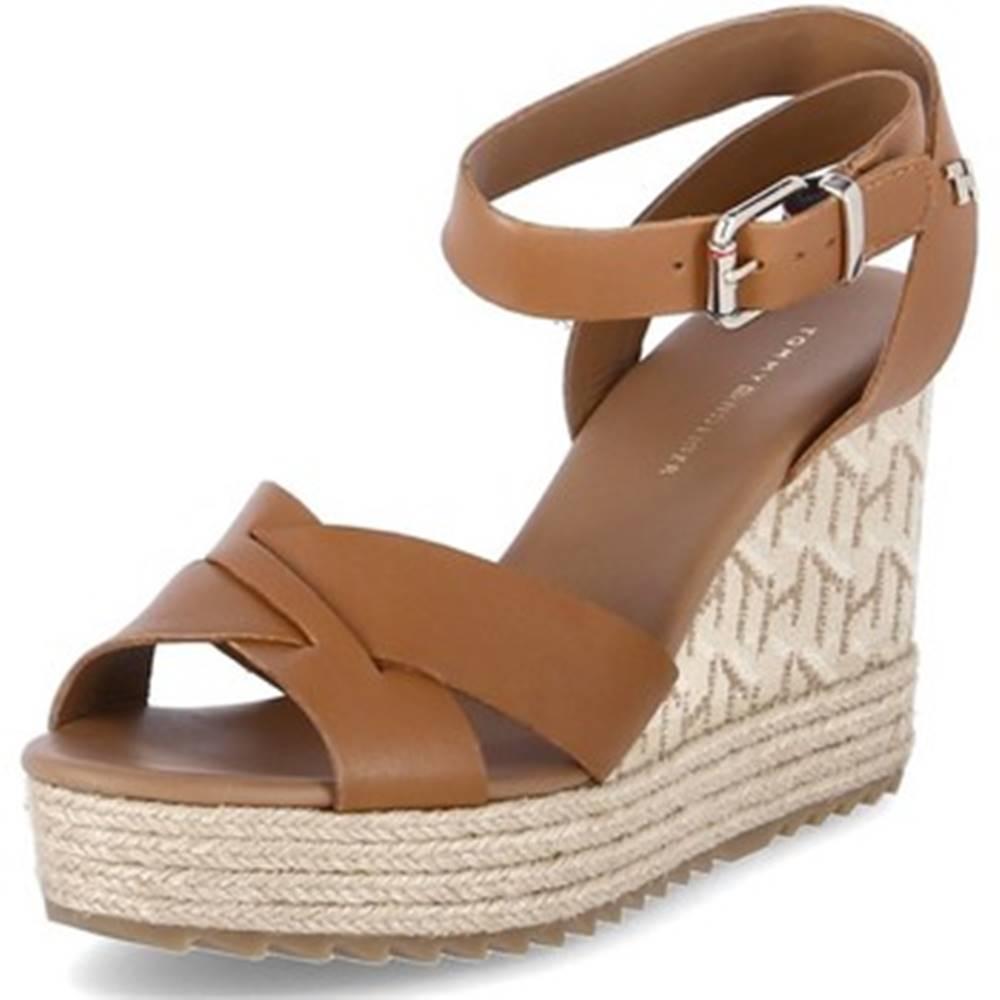 Sandále  TH Raffia High