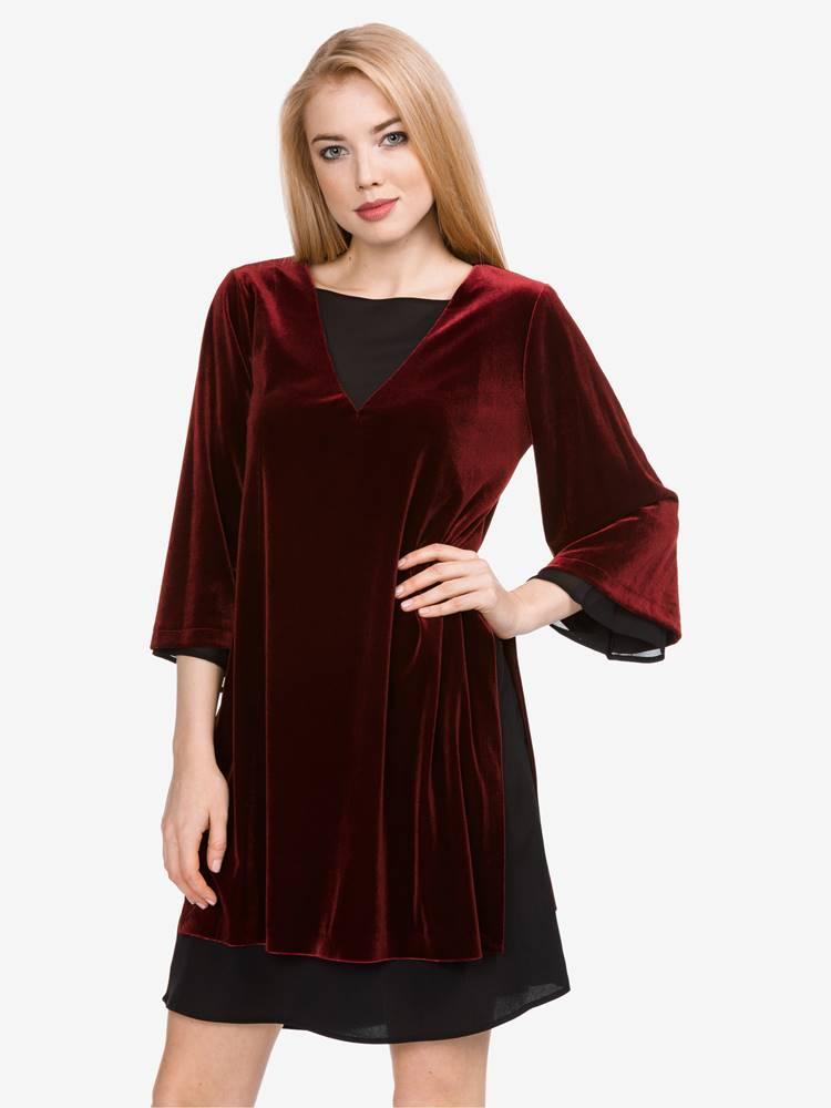 Šaty  Červená
