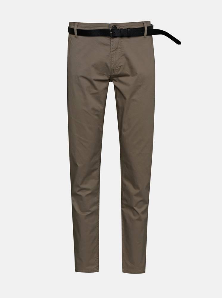 Béžové chino nohavice Shine Original