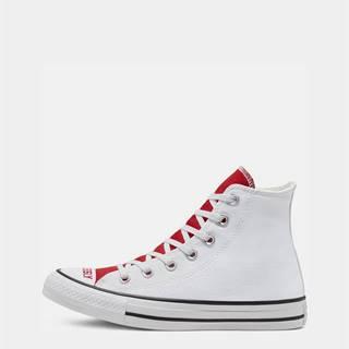 Bielo-červené dámske tenisky Converse Chuck Taylor All Star