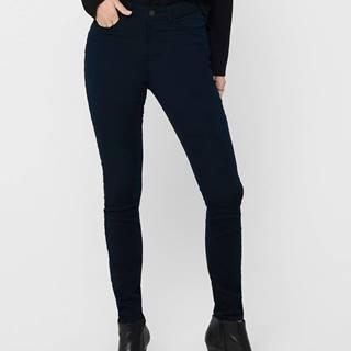 Tmavomodré skinny fit nohavice Jacqueline de Yong