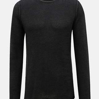 Tmavomodrý sveter ONLY & SONS Trough