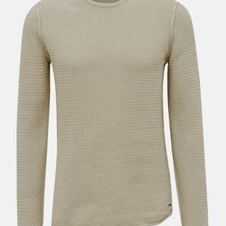 Béžový sveter ONLY & SONS Trough