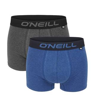 O'NEILL - 2PACK blue & gray boxerky z organickej bavlny-M (82-88 cm)