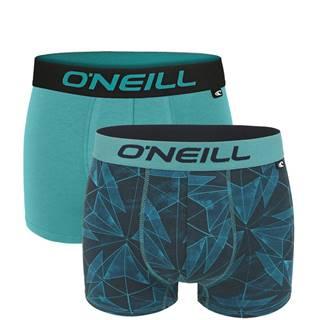 O'NEILL - 2PACK crystal green boxerky z organickej bavlny-M (82-88 cm)