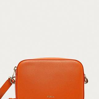 Furla - Kožená kabelka Block Mini