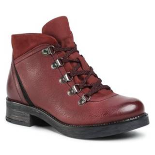 Šnurovacia obuv Lasocki WI23-D435-02 Prírodná koža(useň) - Lícova