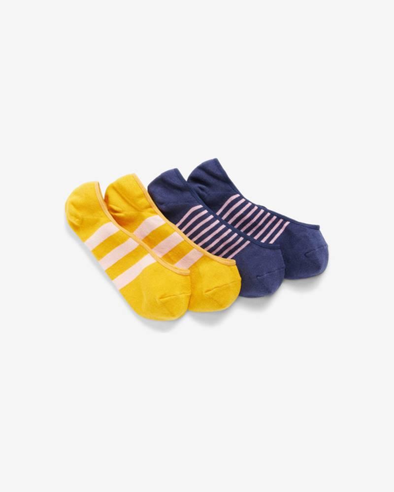 GAP Ponožky 2 páry Modrá Žltá