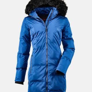 Modrý dámsky prešívaný kabát killtec