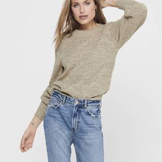 Béžový sveter Jacqueline de Yong Portman