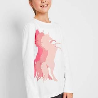 Tričko s dlhým rukávom z bio bavlny