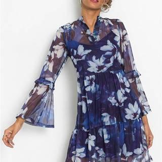 Šaty s kvetami