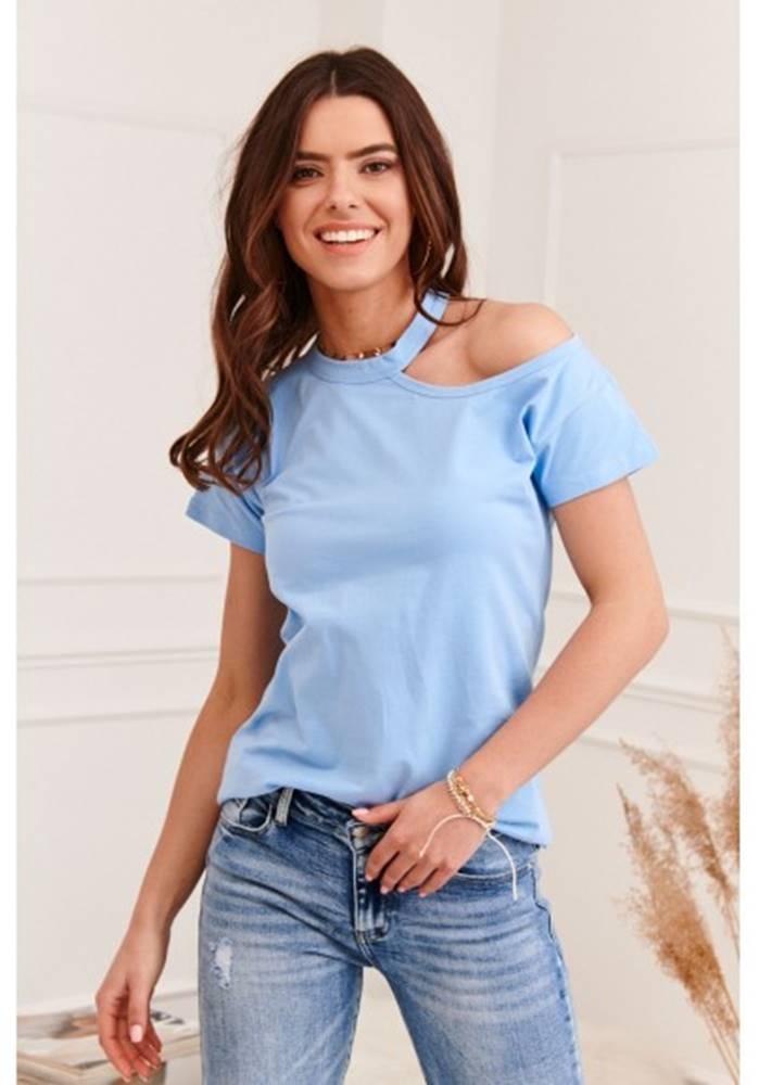 Krásne dámske tričko s holý...