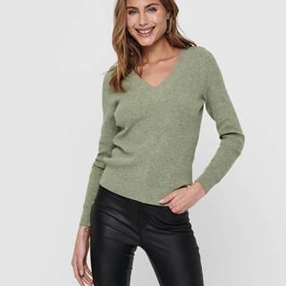 Zelený sveter ONLY Atia