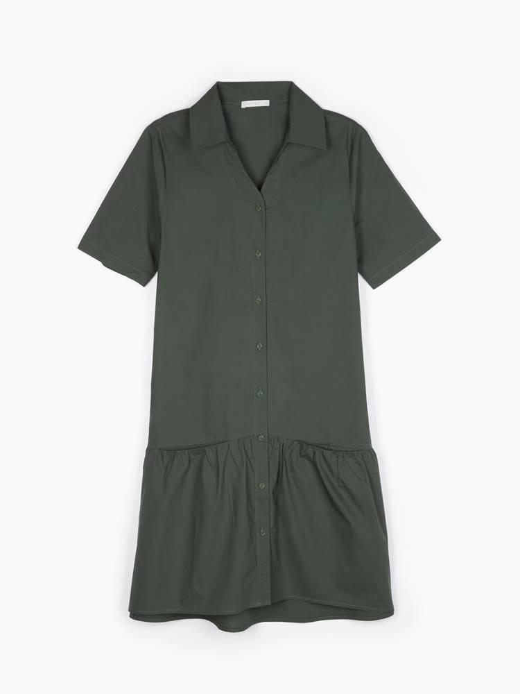 Košeľové šaty s vreckami