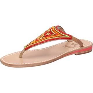 Sandále Eddy Daniele  sandali multicolor pelle perline as172