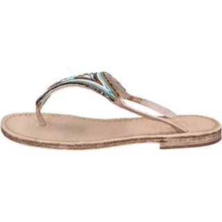 Sandále Eddy Daniele  sandali multicolor pelle perline as175