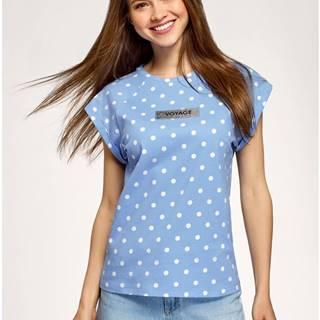 Tričko bavlnené potlačené OODJI