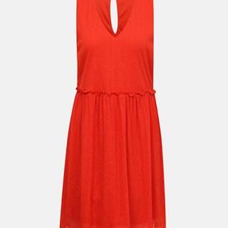 Červené šaty VERO MODA Katie