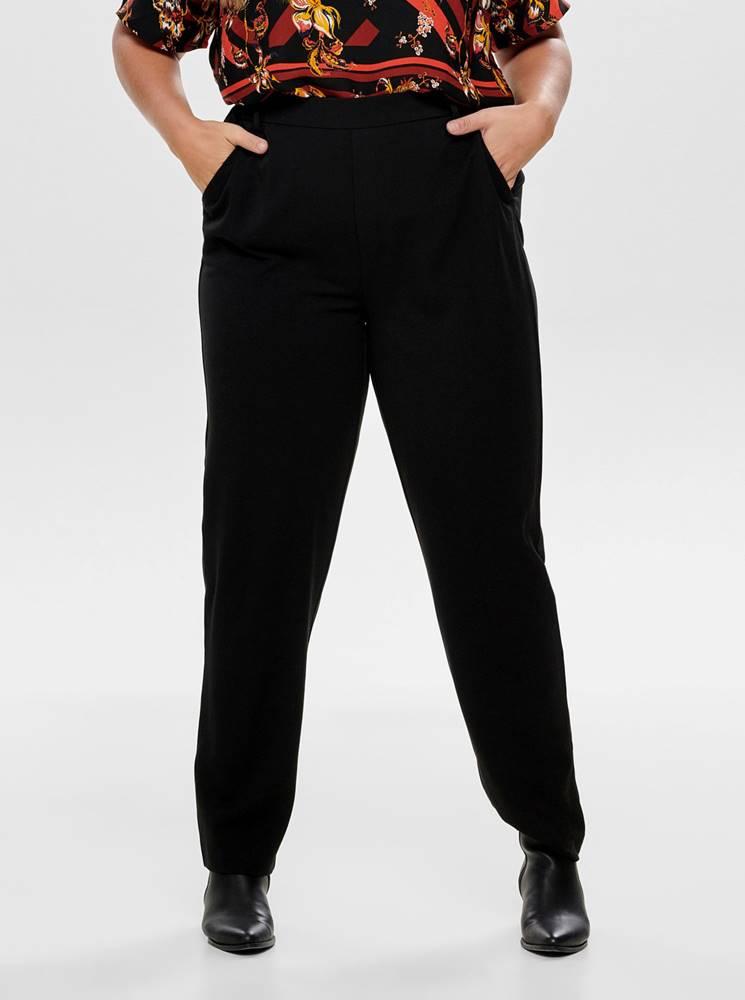 Čierne nohavice ONLY CARMAKOMA Awesome