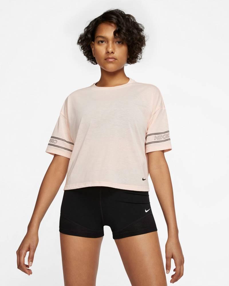 Nike Nike Pro Tričko Ružová