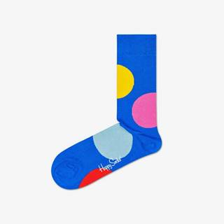 Happy Socks Jumbo Dot Ponožky Modrá