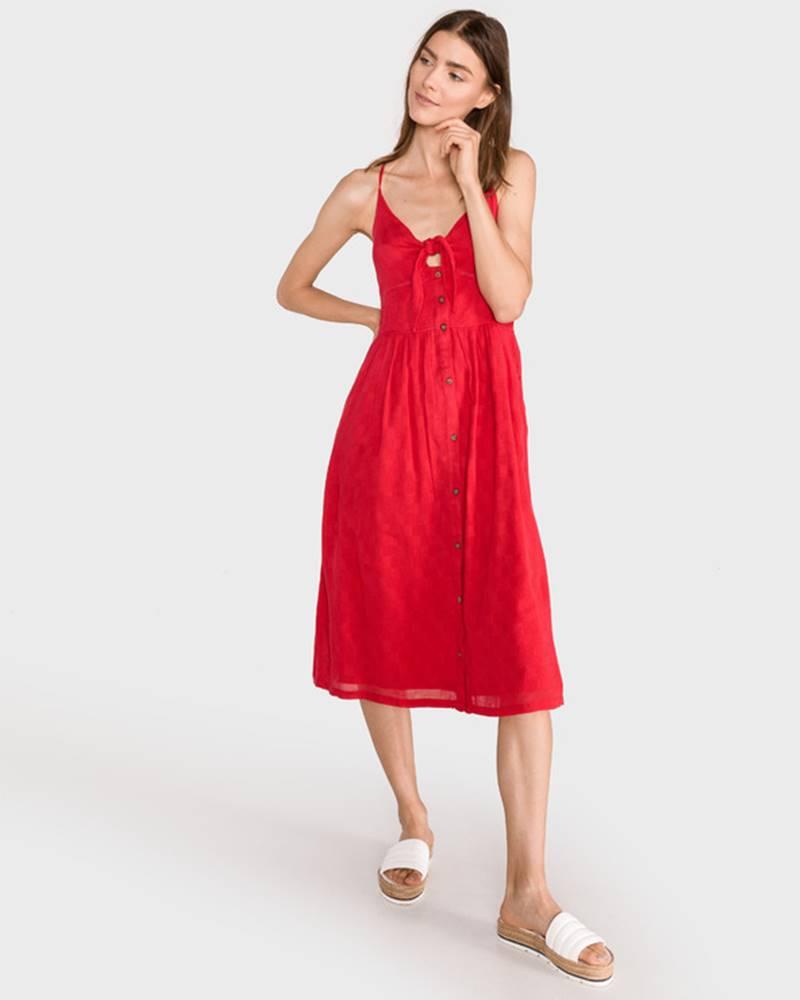 SuperDry Jayde Šaty Červená