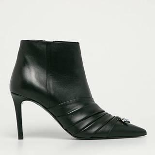 Patrizia Pepe - Kožené členkové topánky