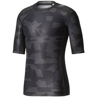 Tričká s krátkym rukávom adidas  Techfit Chill Print Tee