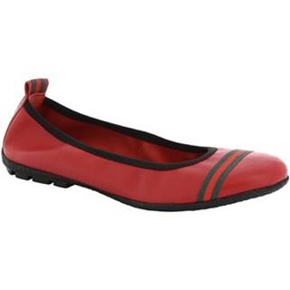 Balerínky/Babies Leonardo Shoes  5618 G/SOSIA NAPPA ROSSO