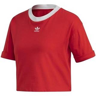 Tričká s krátkym rukávom adidas  Crop Top