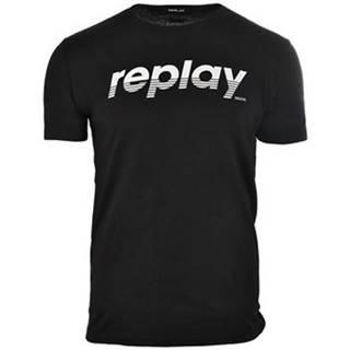 Tričká s krátkym rukávom Replay  M30050002660098