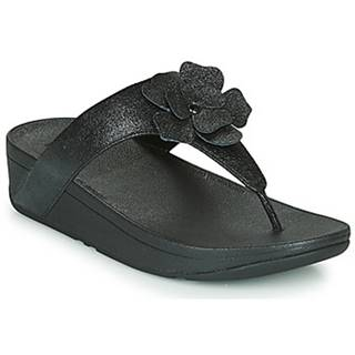 Žabky FitFlop  LOTTIE CORSAGE SUEDE TOE-THONGS