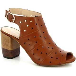 Sandále Leonardo Shoes  4676 VITELLO TAN