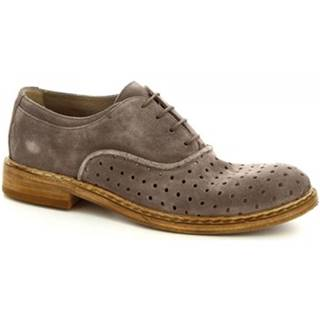 Derbie Leonardo Shoes  M681-23 WASHSAVANA PERLA