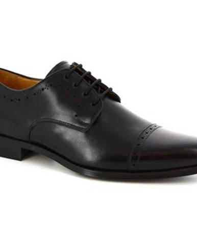 Derbie Leonardo Shoes  6151I18 TOM. OXFORD NERO