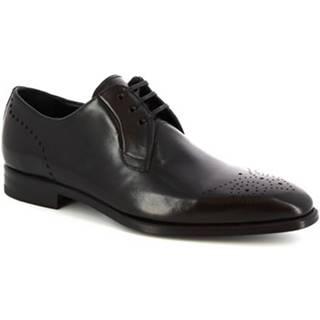 Derbie Leonardo Shoes  07137 MONTECARLO NERO