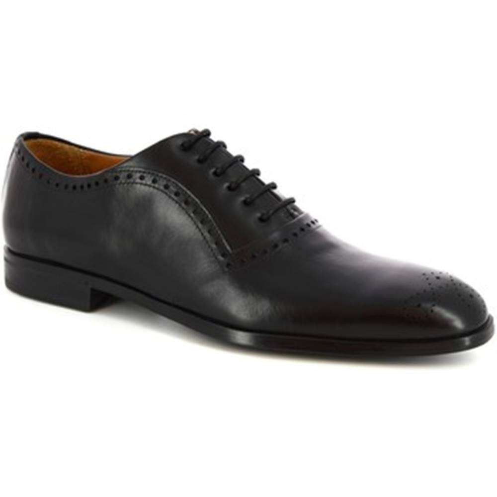 Derbie Leonardo Shoes  3309 NERO