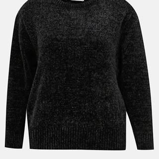 Čierny sveter Jacqueline de Yong Chino