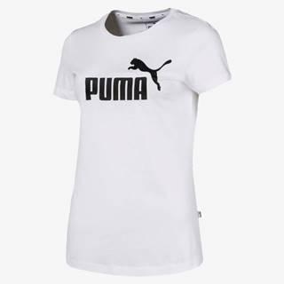 Puma Essentials Tričko Biela
