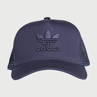 Trefoil Kšiltovka adidas Originals Modrá