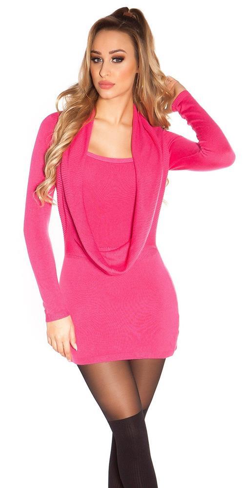 c2652a246e9c Dámske štýlové pletené šaty značky IN-STYLE